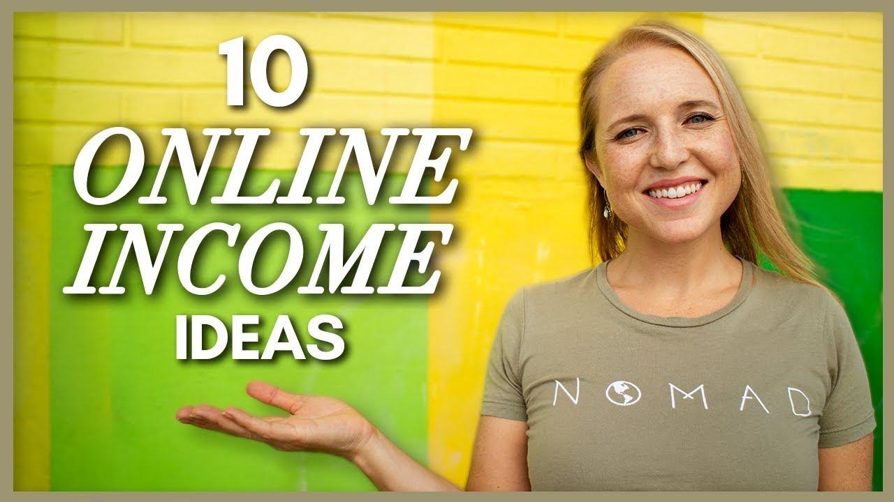 10 Ways I Make Money Online - My Top Ten Online Income Streams thumbnail
