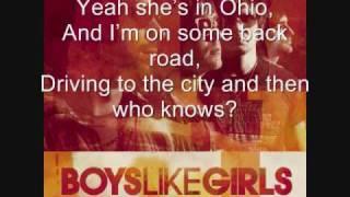 She's Got a Boyfriend Now by Boys Like Girls (With lyrics on screen!)