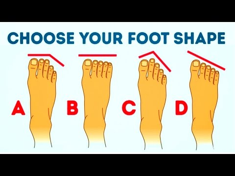 Video WHAT YOUR FOOT SHAPE REVEALS ABOUT YOU
