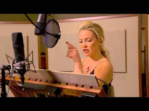 Kung Fu Panda 3: Kate Hudson & Lucy Liu Behind The Scenes Voice Acting