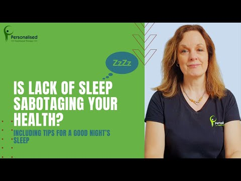 Is lack of sleep sabotaging your health (voice)