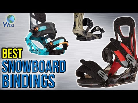 8 Best Snowboard Bindings 2017