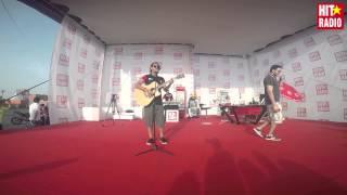 Yassine et Djibril chantent Va Bene de Reda Taliani au MGP 2015 sur HIT RADIO