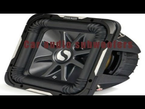 ♥✩✩♥The Ten Best Car audio subwoofers review