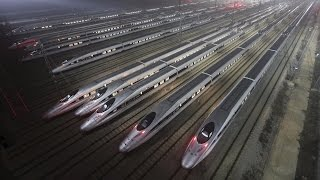 Китай творит чудеса: Самая быстрая железная дорога в мире. Discovery.  Наука и образование