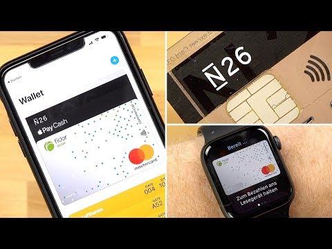 Apple Pay ab JETZT in Deutschland verfügbar! Einrichten einer N26 & Fidor Kreditkarte! (Anleitung)