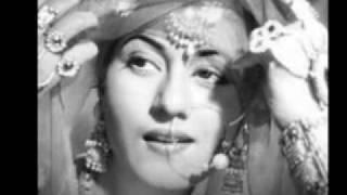 Dekho Jadoo Bhare More Nain - Geeta Dutt on Madhubala