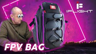???? Rucksack mit RGB Beleuchtung? iFlight FPV Backpack im Test