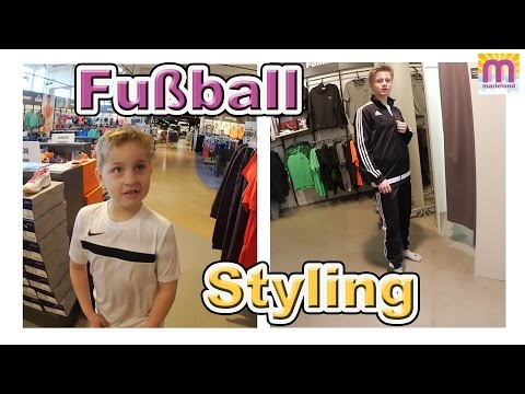 Fußball Styling Shopping Vlog # 56 marieland
