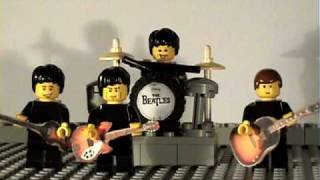 The Lego Beatles-happy birthday