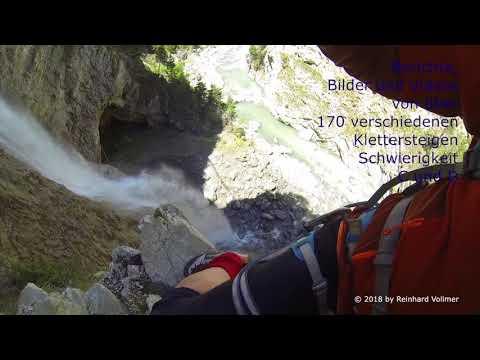FELSFUN im Purgatoire Klettersteig (Frankreich 2018)