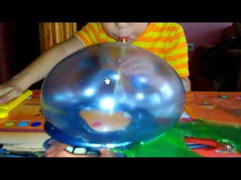 НЕКРАСЯЩАЯ КРАСКА/ Гигантские пузыри из слизи/ игрушки из FIXPRICE