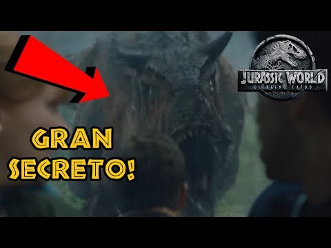EL GRAN SECRETO DEL CARNOTAURUS ESCONDIDO!! - JURASSIC WORLD 2 FALLEN KINGDOM