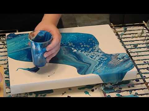 painting tutorials with acrylic paints by amandas designs