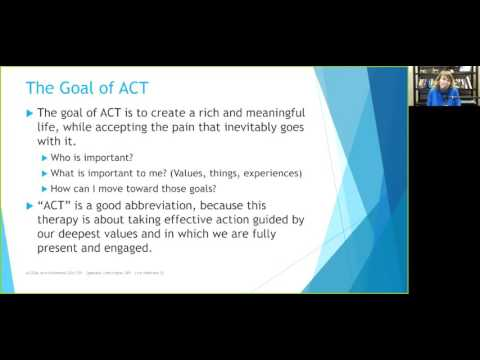 Acceptance and Commitment Therapy (ACT) Skills - YouTube