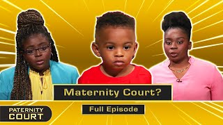 Maternity Court: Two Women Are Potential Mother Of Child (Full Episode)   Paternity Court