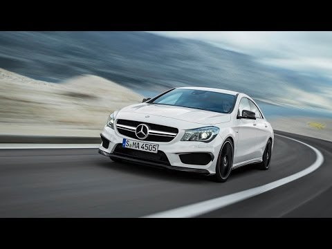 Mercedes-Benz CLA45 AMG - First Drive Review