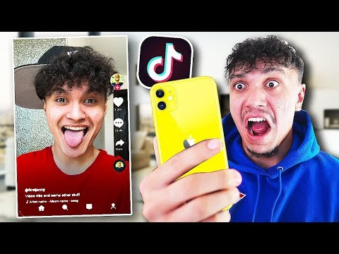Reacting To My Little Brothers Tik Tok's (CRINGEY)