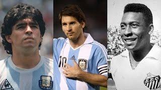 Messi vs Pelé vs Maradona ● Best Goals Battle |HD|