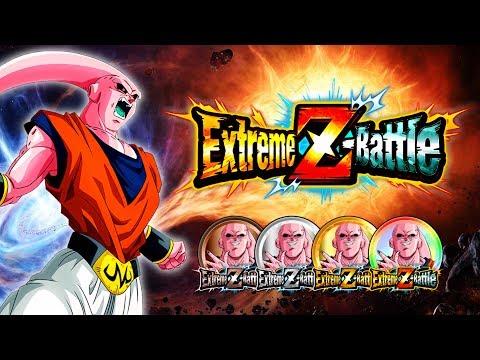 IT'S TIME TO EZA INT BUUHAN ON GLOBAL! Majin Buu Extreme Z-Battle Levels 1-30 | DBZ Dokkan Battle