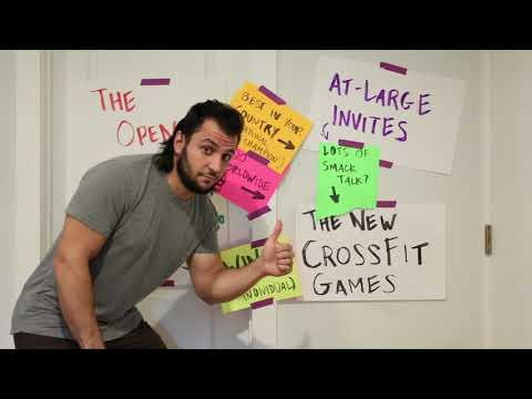 The NEW CROSSFIT GAMES: A Visual Guide
