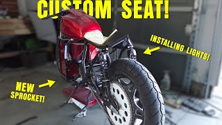 ELECTRIC CAFE RACER for $4,000   Making a Fiberglass Seat (Because We Have To!)