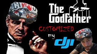 Customizing the dji goggles with THE GODFATHER - #flashbombfpv - SUB EN ( Frank Citro )