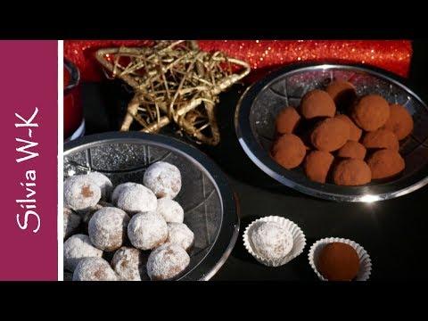 Pralinen selbst gemacht / aus Zwieback / Likör / Schokolade  einfach und schnell