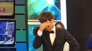 2014/04/02 炎亞綸看到電視裡的自己的反應