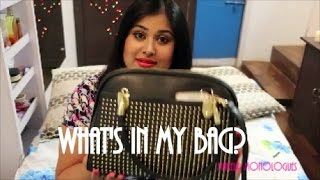 Image for video on What's in my bag by Ikya Kesiraju