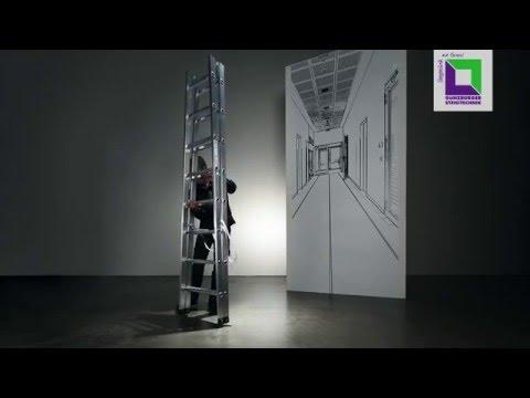 Günzburger Sprossenstehleiter 2x8 Sprossen-youtube_img