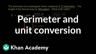 Perimeter and Unit Conversion