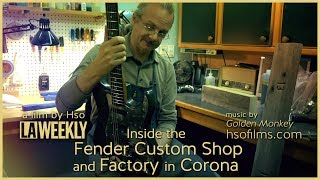 Inside the Fender Custom Shop Making Guitars