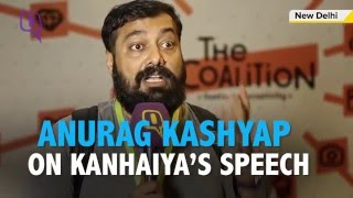 'Kanhaiya Kumar's Speech Had A Lot Of Chutzpah' Anurag Kashyap