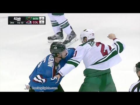 Nate Guenin vs. Kyle Brodziak
