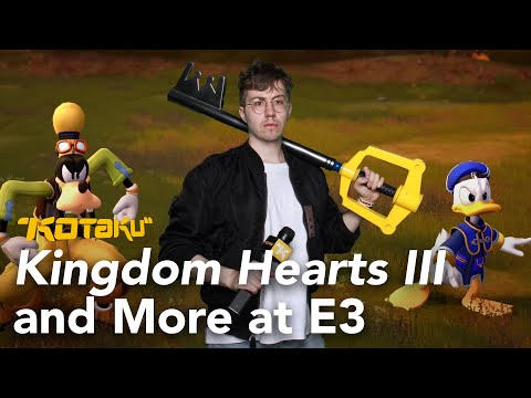 Kingdom Hearts 3, Tomb Raider And Everything Else At Square's E3 Booth