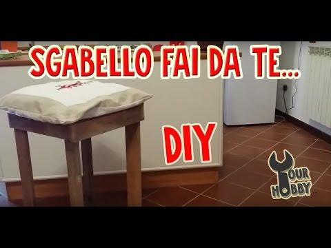 DIY ARREDO FAI DA TE #1 SGABELLO