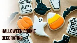DIY Halloween Cookie Decorating