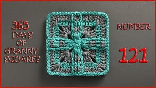 365 Days Of Granny Squares Number 121