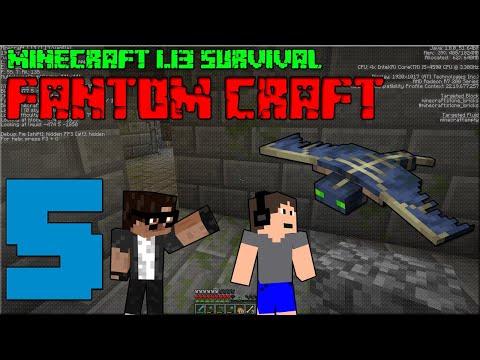 STRONGHOLD! Minecraft survival 1.13! #5 |FANTOM CRAFT| w/CukeMan