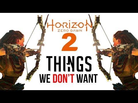Horizon Zero Dawn 2: 10 Things We DON'T Want