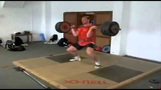 Robert Harting - power clean 170kg - 2011