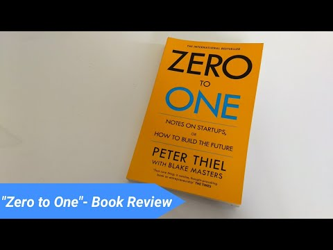 "[Hindi]Best Book on Entrepreneurship!-""Zero to One""