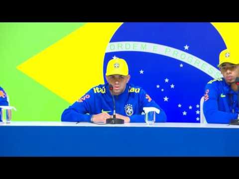 Seleção Olímpica Rio 2016: Coletiva Gabriel B., Luan e Gabriel Jesus