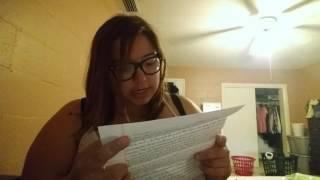 Prison Pen Pal Letter openings