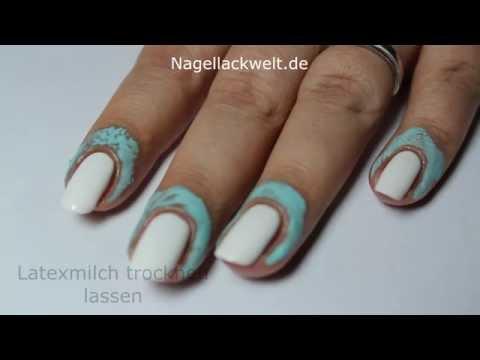 Saubere Nagelhaut bei NailArts innerhalb von Sekunden