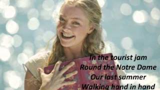 "Mamma Mia! (Movie) - ""Our Last Summer"" (+Lyrics)"