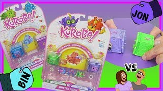 NEW Kuroba Cubes! Rock, Paper, Scissors GO ~ Bin Vs Jon