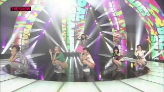K POP Dalshabet   Supa Dupa Diva + B B B( Big Baby Baby) LIVE 20140128