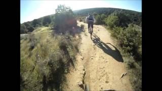 Riding the killer loop of Colmenar Viejo.
